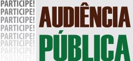 Audiência Pública do 1º Quadrimestre 2018