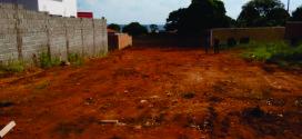 Doação de terrenos a pequenos empresários do município.